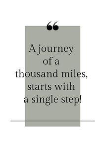 Poster 'Journey' in allen möglichen Farben!
