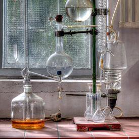HDR foto van een laboratorium van W J Kok