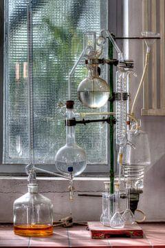 HDR foto van een laboratorium van