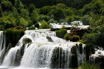 Krka watervallen van Marit Lindberg