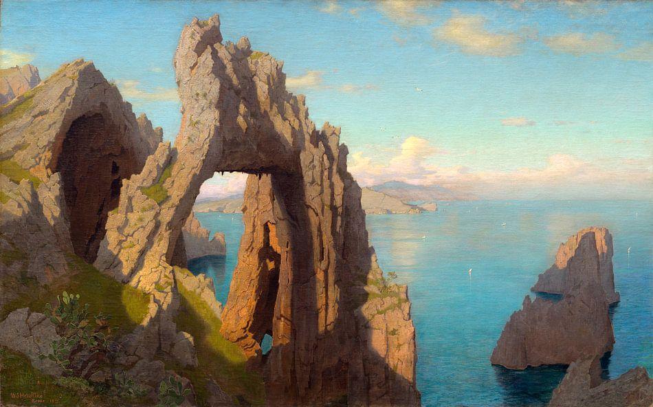 Natuurlijke boog op Capri, William Stanley Haseltine
