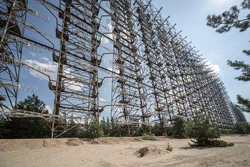 Duga radar Tsjernobyl van Erwin Zwaan