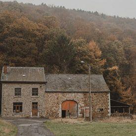 Altes Bauernhaus von Paulien van der Werf