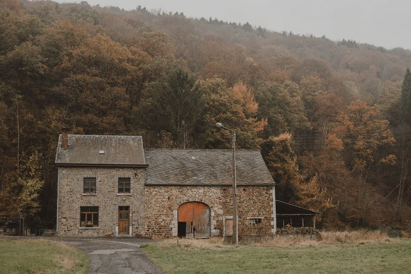 Oude boerderij van Paulien van der Werf