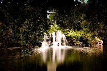 Fairytale waterfall