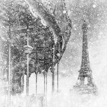 Paris typique | magie hivernale magique sur Melanie Viola