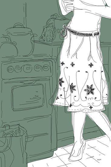 Keuken van Kris Stuurop