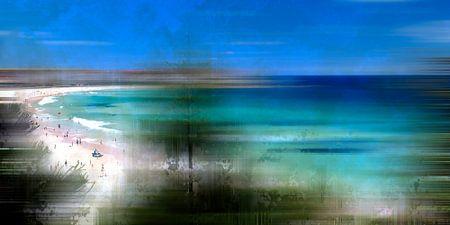 Digital-Art Bondi Beach
