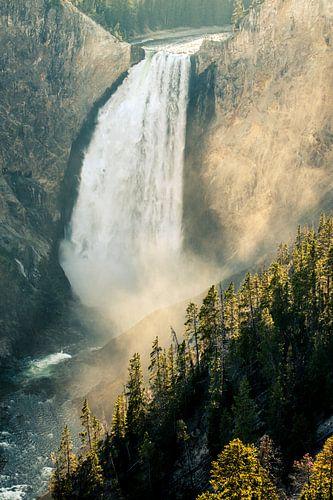 Lower Yellowstone Falls van