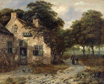 Een boerenwoning, Jan Wijnants
