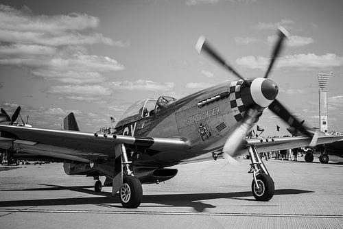 GUNFIGHTER ready for take-off at Oshkosh.