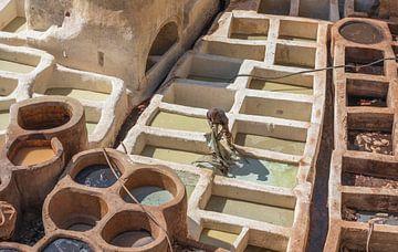 Gerberei Sidi Moussa, Fez (Marokko) von Marcel Kerdijk