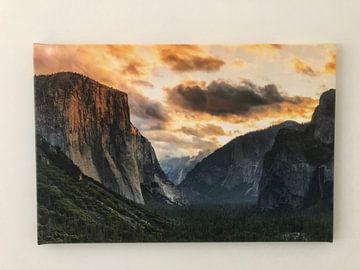 Photo de nos clients: Tunnel View avec El Capitan au lever du soleil, Parc national de Yosemite, Californie, États-Unis sur Markus Lange