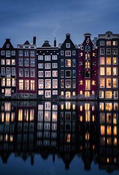 Les canaux d'Amsterdam sur Martijn Kort