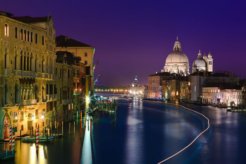 Sunset in Venice, Italy van Henk Meijer Photography