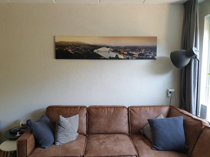 Kundenfoto: Panorama Boedapest von Björn Jeurgens