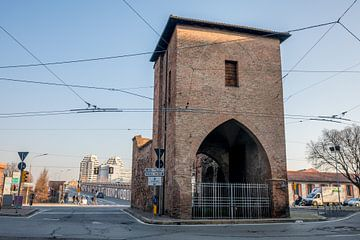 Porta Mascarella à Bologne, Italie sur Joost Adriaanse