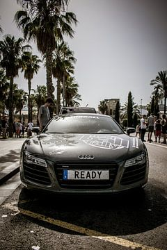 Rallye de l'Audi R8 Modball sur Imad Daakour
