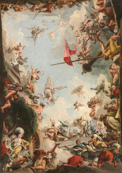 The Glorification of the Giustiniani Family, Giovanni Domenico Tiepolo van Meesterlijcke Meesters
