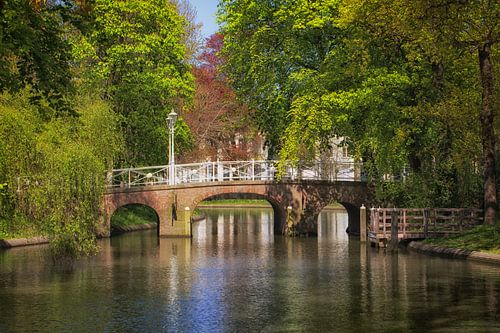 De Maliebrug in Utrecht over de Stadsbuitengracht (2) van