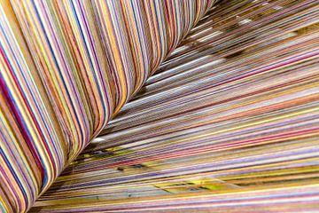 Kleurrijk weefgetouw Thailand