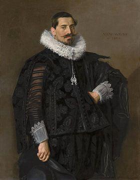 Porträt von Jacob Olycan, Frans Hals