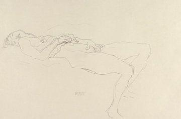 Liegender Akt, Gustav Klimt