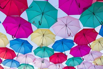Hemel vol parapluutjes van Marianne Jonkman