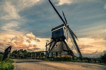 Holländische Mühle von Bert-Jan de Wagenaar