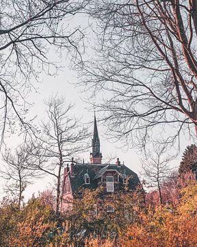 Chapelle Sainte-Barbara à Haarlem sur Mick van Hesteren