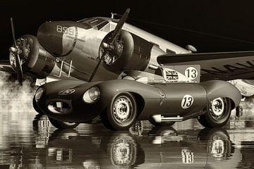 Jaguar Typ D - Der legendäre Sportwagen von 1956
