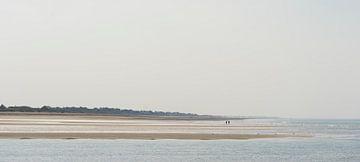Oneindige stranden van Marloes van Pareren