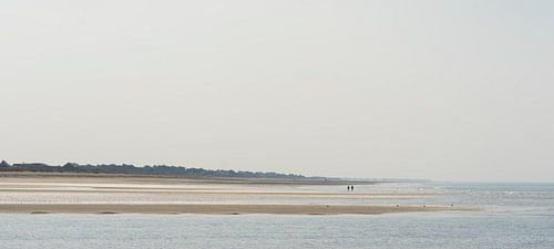 Oneindige stranden van
