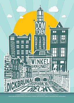 Utrecht ma ville sur Tijmen Bitterlich