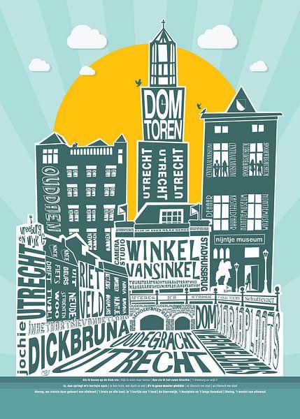 Utrecht Mijn Stadsie van Tijmen