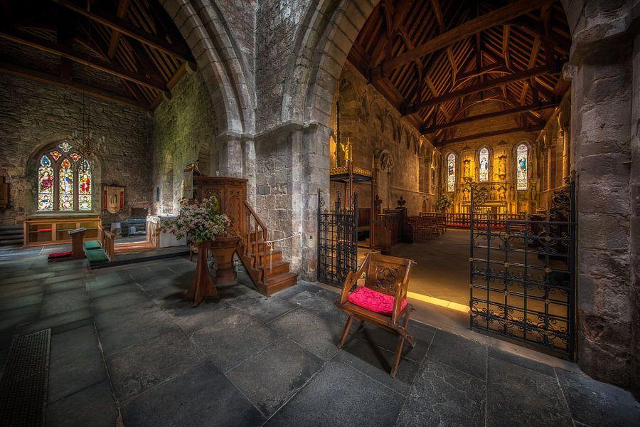 Pray to god in St Aidan's Church