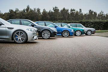 5 x BMW M5 sur