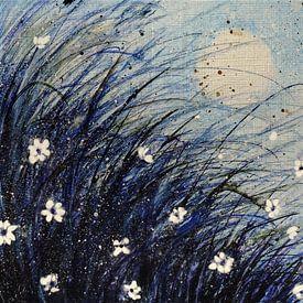Grassoort blauw van Christine Nöhmeier