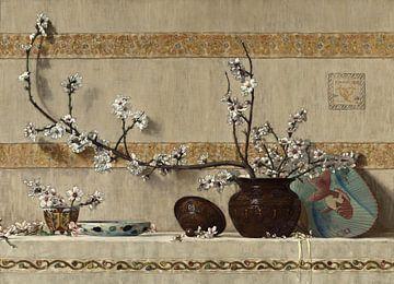 Charles Caryl Coleman~Blumen der Quitte