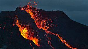 Der Vulkanausbruch von Timon Schneider