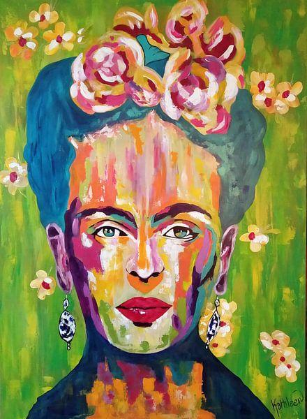 Frida von Kathleen Künstlerin von Kathleen Artist Fine Art