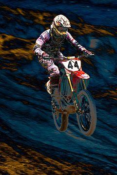 Motorcross 1 von Eddy Verveer