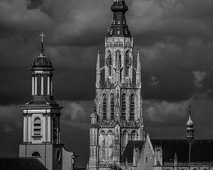 Grote Kerk - Breda - Nord-Brabant - Niederlande