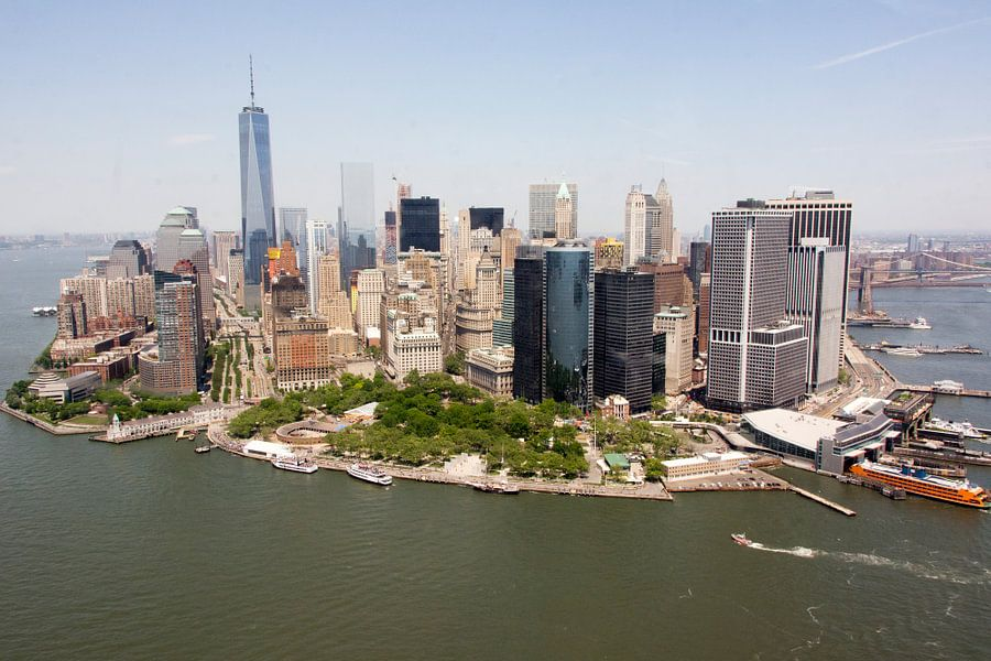 New York from above van Arno Wolsink