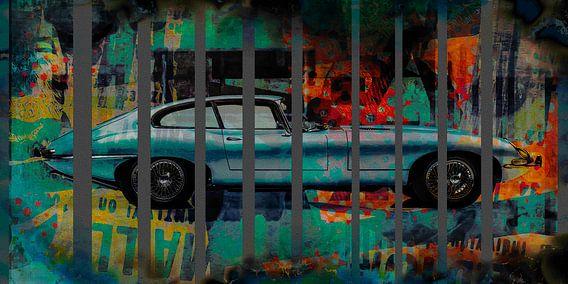 Abstract automotive - Jag E