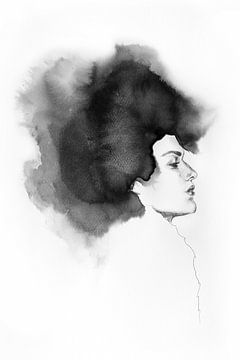 Tintenflüsse von Olga Tromp