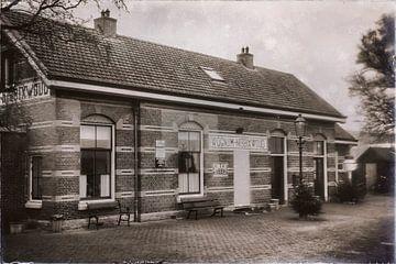 Verlassener Bahnhof Wognum-Nibbixwoud von Jan van der Knaap
