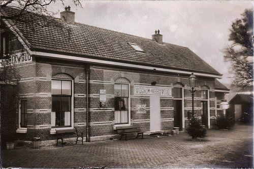 Verlaten station Wognum-Nibbixwoud