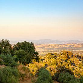 Toscaans landschap van Evert Jan Kip