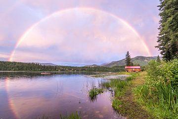 Arc-en-ciel magique sur Eelke Brandsma
